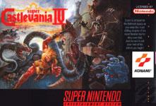 Carátula de Super Castlevania IV para Super Nintendo